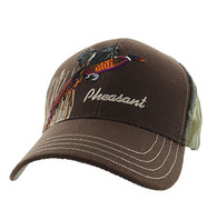 VM570 Outdoor Sports Velcro Cap (Brown & Hunting Camo)