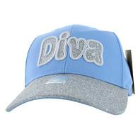 VM628 Diva Velcro Cap (Sky Blue)