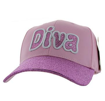 2f1b093a34d VM628 Diva Velcro Cap (Light Pink) - Ace Cap