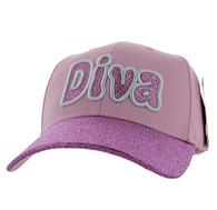 VM628 Diva Velcro Cap (Light Pink)