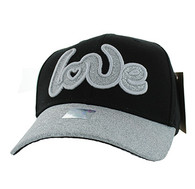 VM628 Love Velcro Cap (Black)