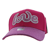 VM628 Love Velcro Cap (Hot Pink)