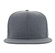 SP1622 Blank Cotton Snapback Cap (Solid Grey)