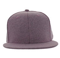 SP1622 Blank Cotton Snapback Cap (Solid Light Pink)