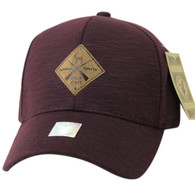 VM823 Deer Velcro Cap (Dark Brown & Dark Brown)