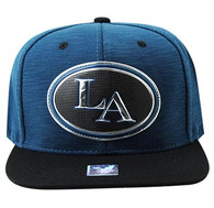 SM794 Los Angeles City Snapback (Royal & Black)