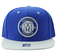 SM804 Memphis City Snapback (Royal & White)