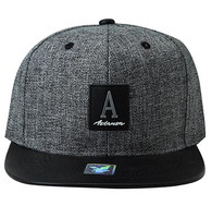 SM859 Atlanta City Snapback (Charcoal & Black)