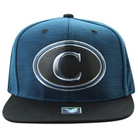 SM794 Chicago City Snapback (Royal & Black)