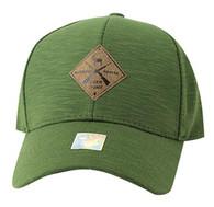 VM823 Deer Velcro Cap (Olive & Olive)
