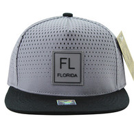 SM852 Florida State Snapback (Grey & Black)
