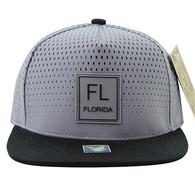 SM852 Florida State Snapback (Grey & Black)