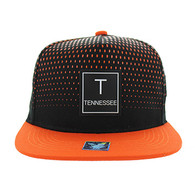 SM852 Tennessee State Snapback (Black & Orange)