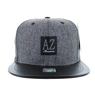 SM859 Arizona State Snapback (Charcoal & Black)
