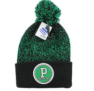 WB182 Philadelphia Pom Pom Beanie (Black & Dark Green)