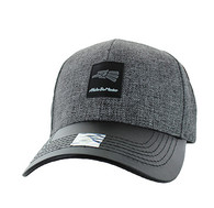 VM859 Hecho En Mexico Baseball Cap Hat (Grey & Black)