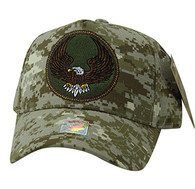 VM547 Eagle Cotton Velcro Cap (Solid Digital Camo)