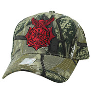 VM754 Fire Fighter Velcro Cap (Solid Hunting Camo)