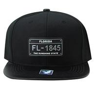 SM860 Florida State Snapback (Black & Black)