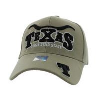 VM002 Texas Velcro Cap (Solid Khaki)