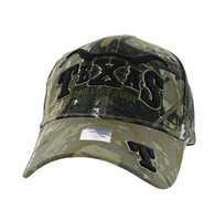 VM002 Texas Velcro Cap (Solid Hunting Camo)