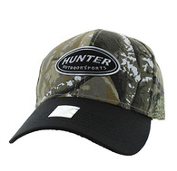 VM815 Hunter Velcro Cap (Hunting Camo & Black)