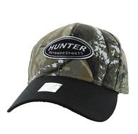 VM815 Hunter Velcro Cap (Hunting Camo & Black)