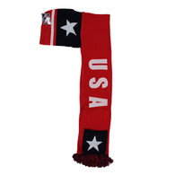 WS030 USA Hoodie Scarf (Red & Navy)