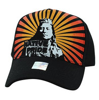 VM932 Native Pride Velcro Cap (Solid Black)