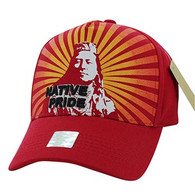 VM932 Native Pride Velcro Cap (Solid Red)