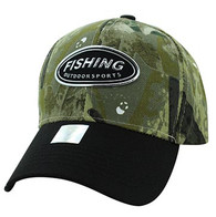 VM815 Fishing Velcro Cap (Hunting Camo & Black)
