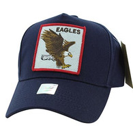 VM918 Eagles Velcro Cap (Navy & Navy)