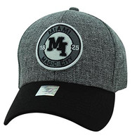 VM804 Miami City Baseball Hat Cap (Charcoal & Black)