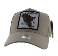 VM918 Eagles Velcro Cap (Khaki & Khaki)