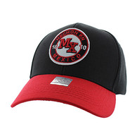 VM804 Mexico Baseball Hat Cap (Black & Red)