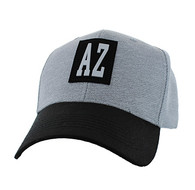 VM525 Arizona State Velcro Cap (Light Grey & Black)