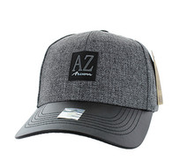 VM859 Arizona State Velcro Cap (Charcaol & Black)