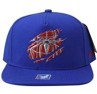 SM964 Spider Snapback Cap (Solid Royal Blue)