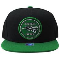 SM984 Hecho En Mexico Eagle Snapback (Black & Kelly Green)