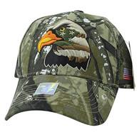 VM036 American USA Eagle Velcro Cap (Hunting Camo & Hunting Camo)
