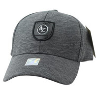 VM790 Arizona Cotton Baseball Cap Hat (Charcoal & Charcoal)