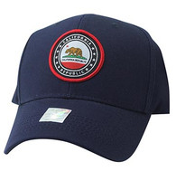 VM899 Cali Bear Cotton Velcro Cap (Navy & Navy)