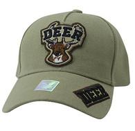 VM929 Deer Hunting Velcro Cap (Khaki & Khaki)