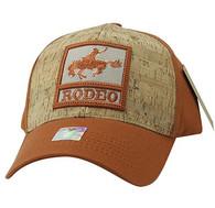 VM961 Rodeo Horse Rider Velcro Cap (Texas Orange& Texas Orange)