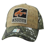 VM961 Rodeo Horse Rider Velcro Cap (Hunting Camo & Hunting Camo)