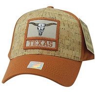 VM961 Texas State Baseball Hat Cap (Texas Orange & Texas Orange)