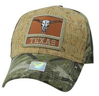 VM961 Texas State Baseball Hat Cap (Hunting Camo & Hunting Camo)