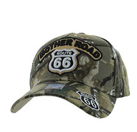 VM929 Route 66 Velcro Cap (Hunting Camo & Hunting Camo)