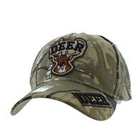 VM929 Deer Hunting Velcro Cap (Hunting Camo & Hunting Camo)