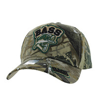 VM929 Big Bass Outdoor Sports  Velcro Cap (Hunting Camo & Hunting Camo)